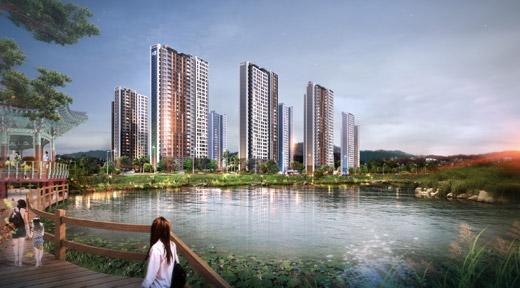 GS건설, 문성레이크자이 견본주택 13일 오픈