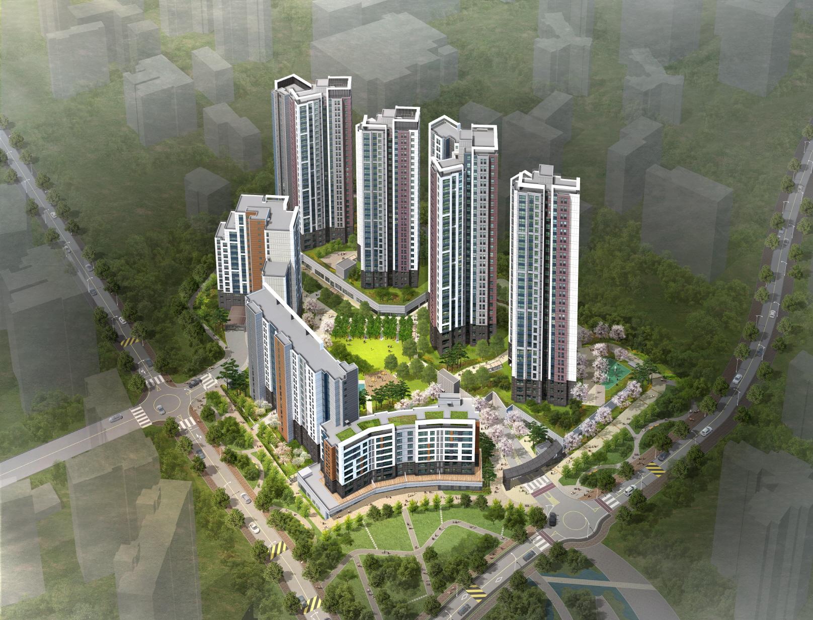 GS건설, 신길파크자이 8일 견본주택 오픈