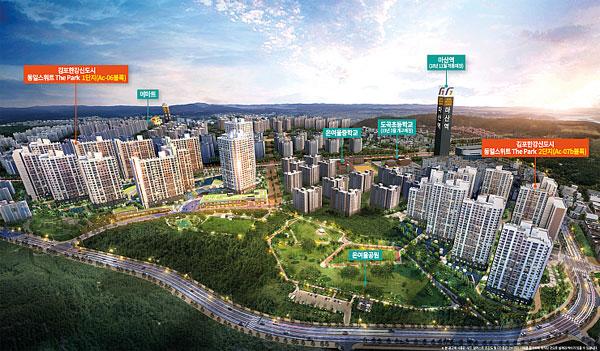 김포 도시철도개통 역세권 수혜지역