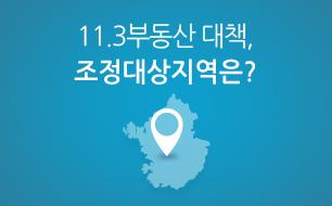 11.3부동산 대책, 조정대상지역은?